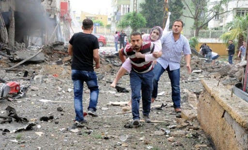Two car bombs killed 46 people and wounded dozens more in a Turkish border town on Saturday. (Photo: AFP)