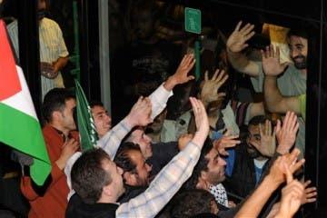 Activists arrive in Turkey