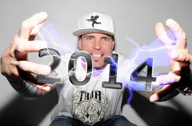 Get your break dancin' shoes ready 'cause Vanilla Ice will be rockin' in the New Year in Dubai.