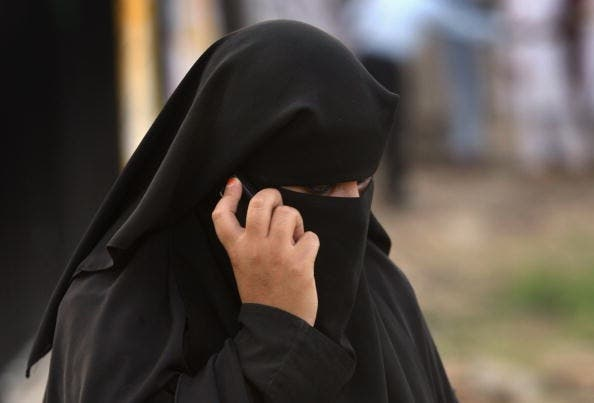 The kind of face veil banned in France