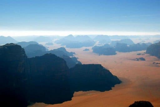 Wadi Rum, or the Valley of the Moon, is a popular tourist destination in Jordan. (AFP/File)