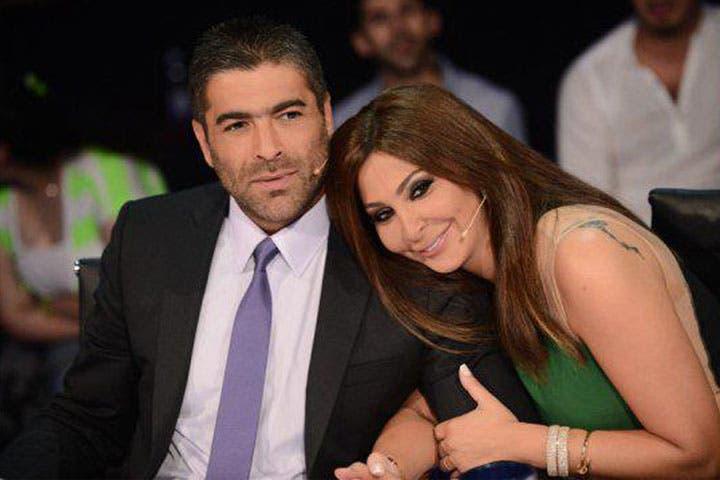 Are Wael Kfoury and Elissa suspiciously close? No wonder his wife is upset! (Image: Facebook)