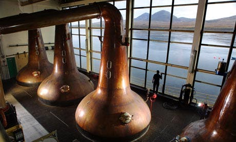 The Milk & Honey Whisky Distillery will produce its products in a kosher way, the founders told reporters (Courtesy of the Guardian)