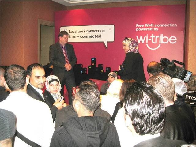 wi-tribe at Microsoft Open Door