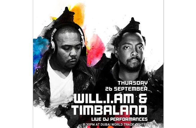 Will.i.am will be on fire and in style tonight, no doubt. (Image: Event Flyer)