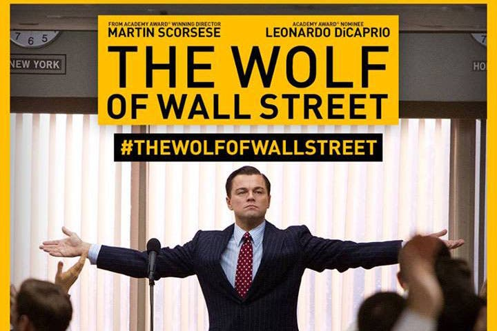 The Wolf of Wall Street (Image: Facebook)