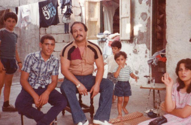 Members of the filmmaker's family at home in Ain al-Hilweh.