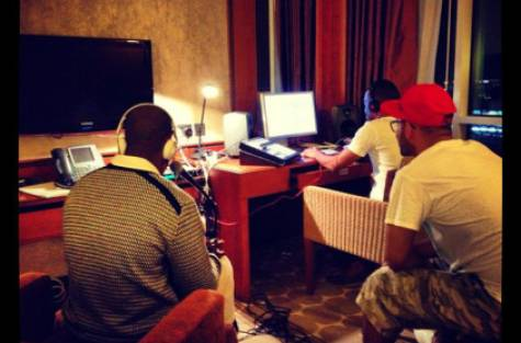 Wyclef Jean has been hard at work in the studio with DJ Bliss and Prince Q