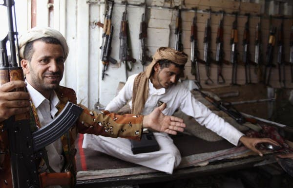 The spread of weapons in Yemen is upsetting the capital's residents.