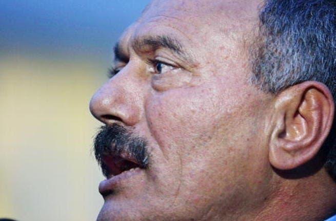 Yemeni former leader, Ali Abdullah Saleh