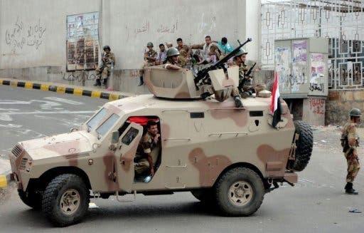 Yemeni security forces