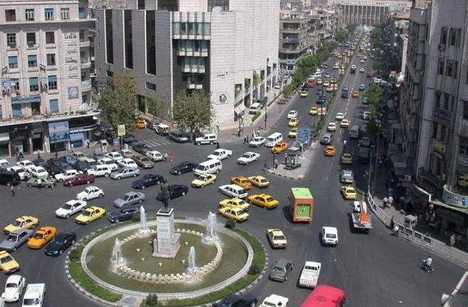 Yousef al-Azma Square in central Damascus.