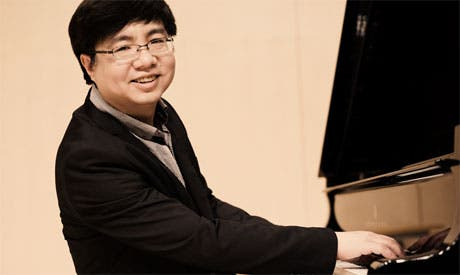 Yuan Sheng is set to give a royal performance in Cairo (Photo courtesy: International Music Centre, Cairo)