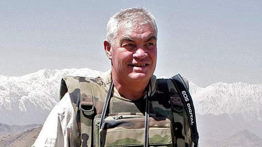 Belgian journalist Yves Debay. (AFP)