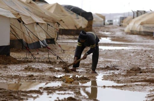 Saudi Arabia is funding further aid to Syrian refugees in Jordan as winter sets in