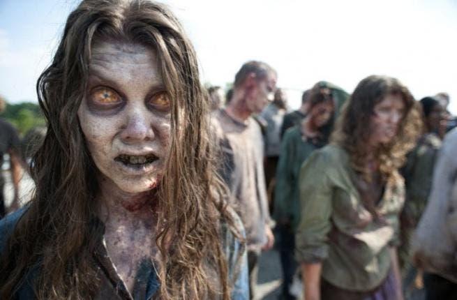 Spooooky zombies for Halloween!