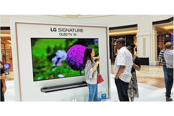 إل جي تطلق في الإمارات تشكيلة أجهزة تلفاز أوليد 2018 الجديدة لتمنح المستخدمين أرقى مستويات الترفيه المنزلي   البوابة
