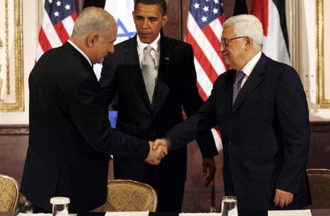 Abbas, Obama and Netanyahu