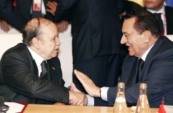 Mubarak in Algeria