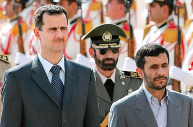 Assad and Iran president