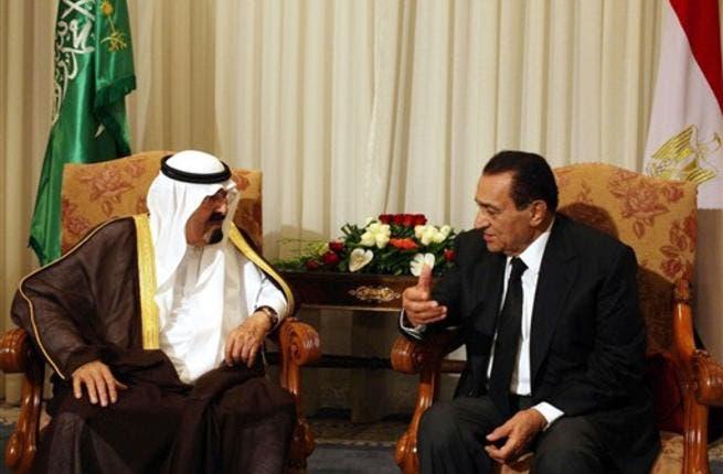 Mubarak and Saudi King