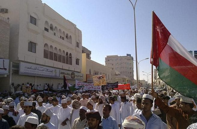 Protests in Oman