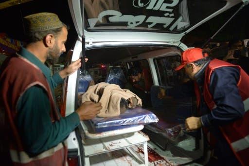 25 قتيلا في انفجار في لاهور الباكستانية