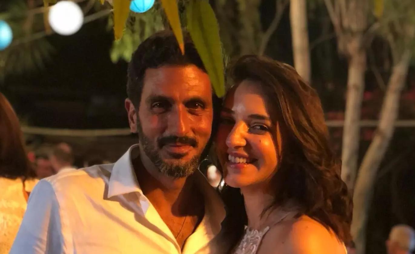 زواج الممثل اليهودي تساحي هليفي من المذيعة الفلسطينية لوسي هريش  يشعل إسرائيل Pales-Isra