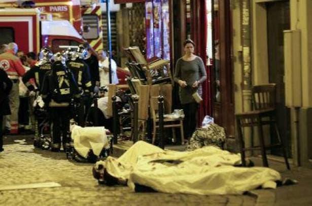 هجمات متزىامنة في باريس