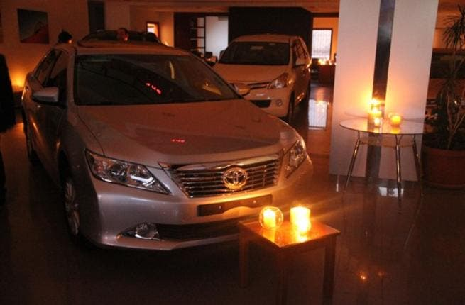 Central Trade & Auto Company celebrating Earth Hour