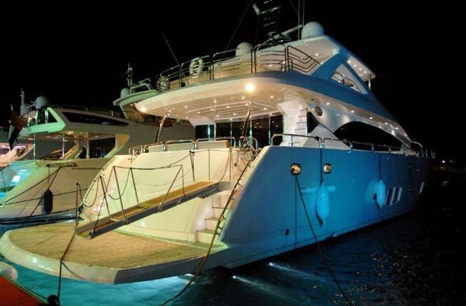 The AED 100 million-worth Superyacht