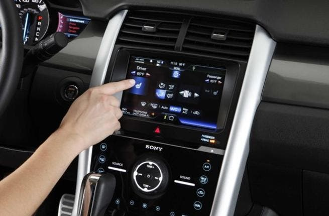 Ford in-vehicle connectivity system