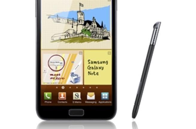 5.3 HD Super AMOLED display GALAXY Note Smartphone