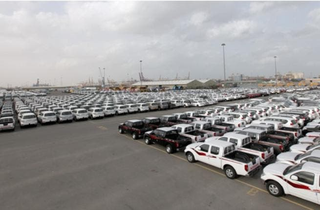 Every week Jebel Ali Port receives thousands of vehicles, including cars, buses and trucks of different types
