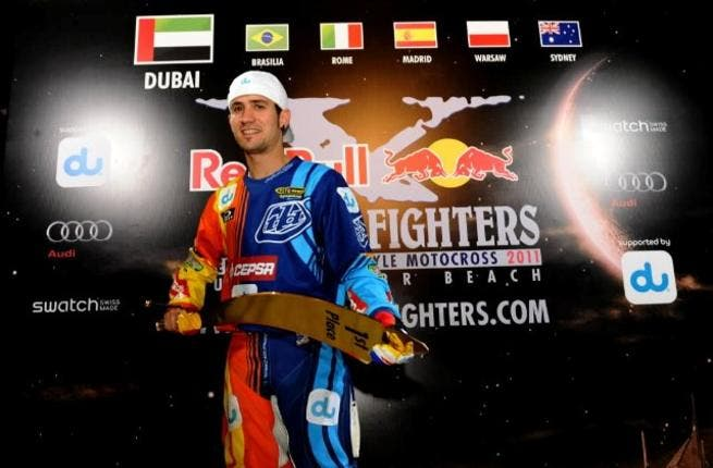 The winner Danny Torres who impressed audiences with a flawless performance on race day to finish first on the podium finale in Dubai