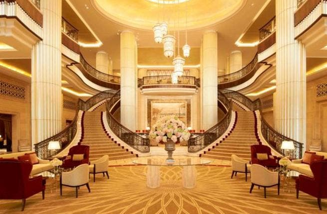 St. Regis Abu Dhabi Reception Hall