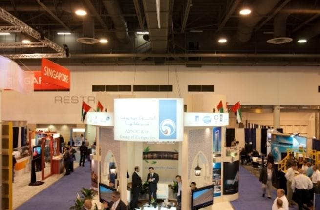 ADNOC booth at the OTC 2011