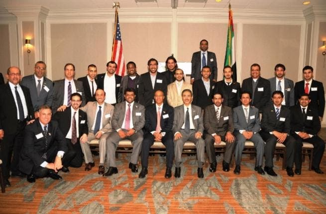 ADNOC delegation with senior executives at the US-UAE Business Council reception