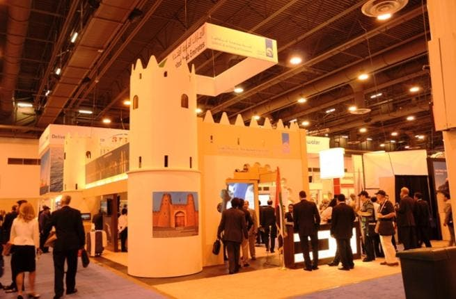 ADNOC stand at OTC 2012