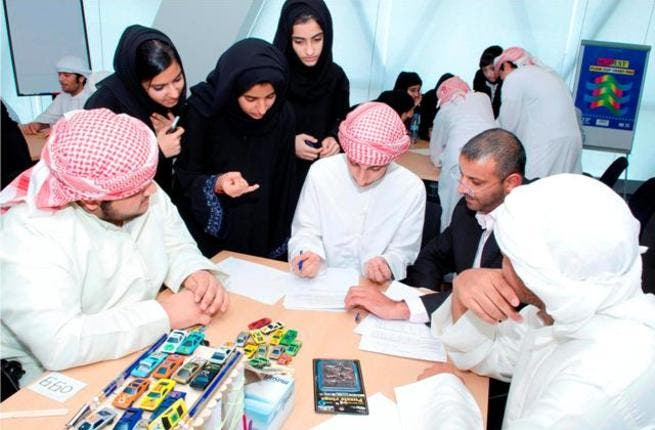 Students take part in an assessment session during ATIC's Summer of Semiconductors program