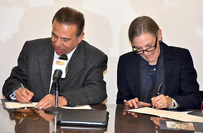 AUC Signs Agreement With Cairo Governorate
