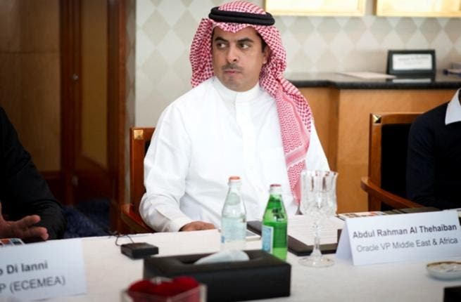 Abdul Rahman Al Theheiban, Vice President Middle East and Africa Oracle