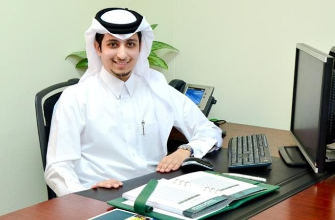 Abdulaziz Ibrahim Al-Heidous, a Qatari graduate trainee in Strategy and Business Planning