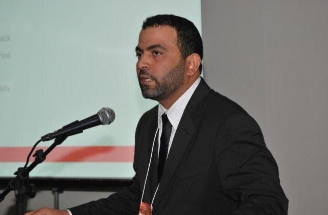 Abdulla Alriyami Manager Reduction Line at EMAL during his presentation