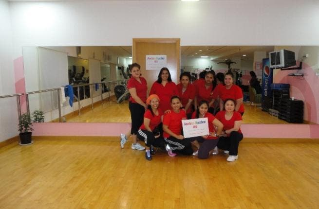 Aerobics Marathon group