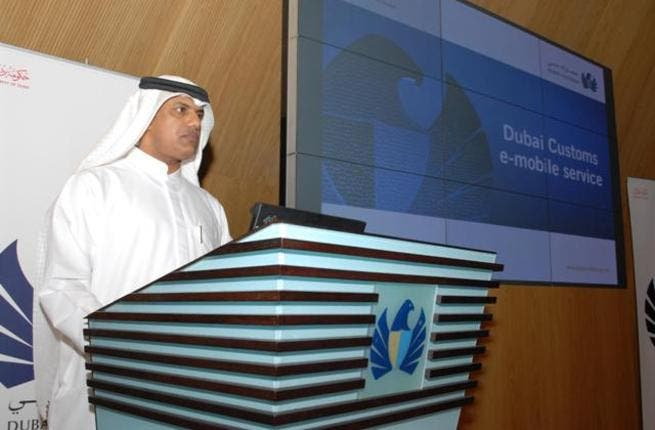 Ahmed Mahboob Musabih, Executive Director of the Customers Management division