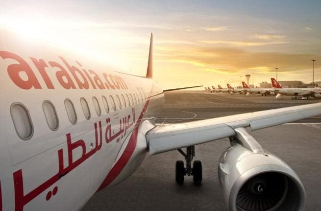 AirArabia, sunset