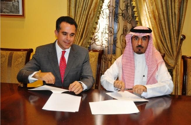 The agreement was by Dr. Fahad Al Jarboa, CEO of