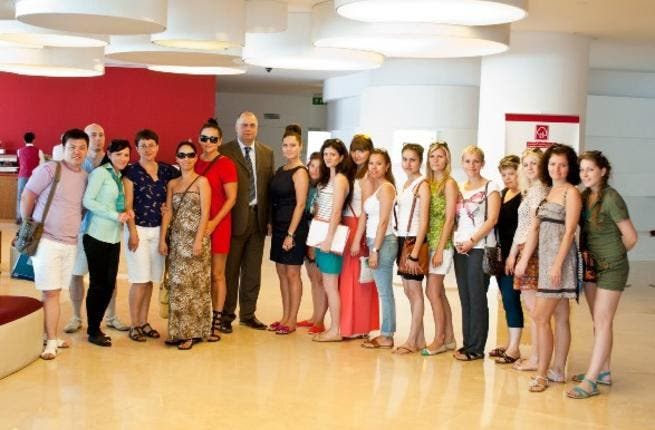 Al Bustan Centre and Residence hosts travel agents from UFA