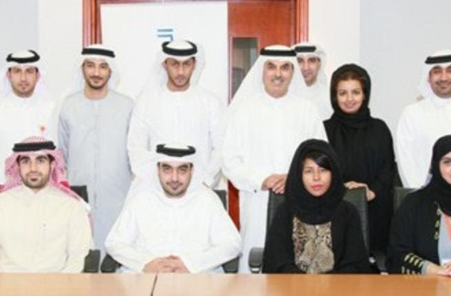 Al Ghurair with Emirati staff